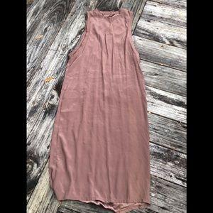 Silk tank dress Olympia